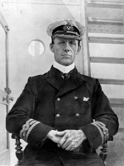 Captain of the Empress of Ireland, Captain G. H Kendall--Photographic Print