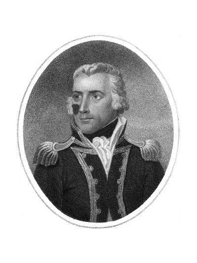 Captain Richard Bowen-HR Cook-Giclee Print