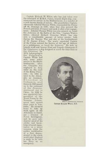 Captain Richard White--Giclee Print
