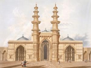 The Shaking Minarets of Ahmedabad by Captain Robert M. Grindlay