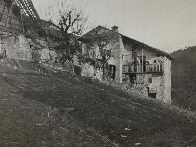 Captain's Quarters to Rog During the First World War-Luigi Verdi-Photographic Print
