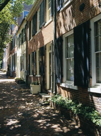 Captain's Row, Alexandria, Virginia, USA-Jonathan Hodson-Photographic Print