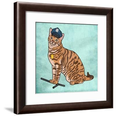 Captain Snuffles-Marcus Prime-Framed Art Print