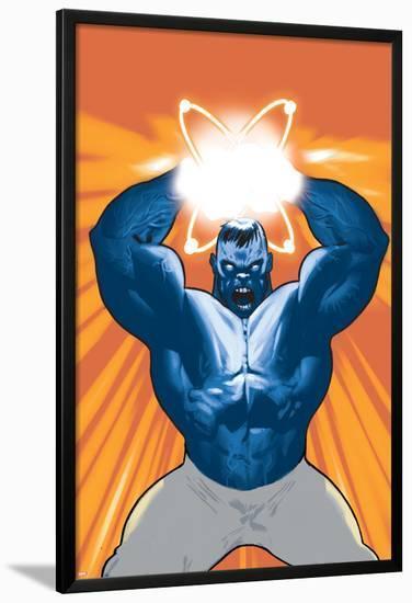 Captain Universe / Hulk No.1 Cover: Hulk--Lamina Framed Poster