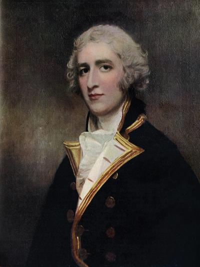 Captain William Bentinck (1764-181), Naval Commander, 1787-1788-George Romney-Giclee Print