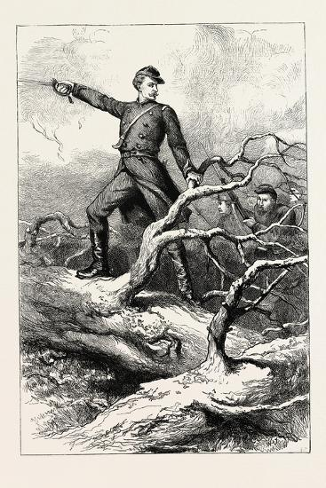 Captain Winthrop at Big Bethel--Giclee Print