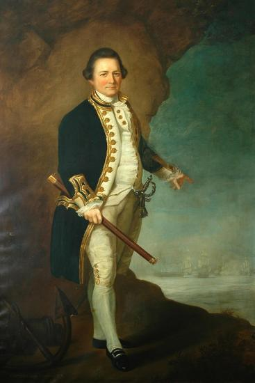 Captain Wood of Bolling Hall, 1770-Dominic Serres-Giclee Print