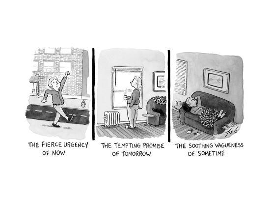 Captionless - New Yorker Cartoon-Tom Toro-Premium Giclee Print