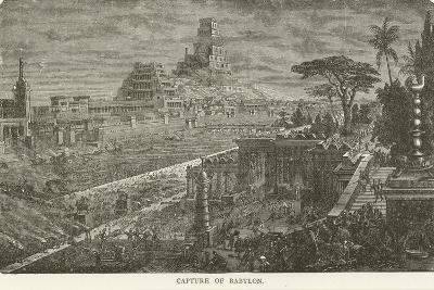 Capture of Babylon--Giclee Print