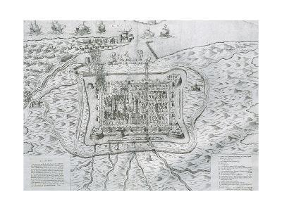 Capture of Calais from the English in 1558 by Francis De Lorraine, Duke of Guise (1558)--Giclee Print