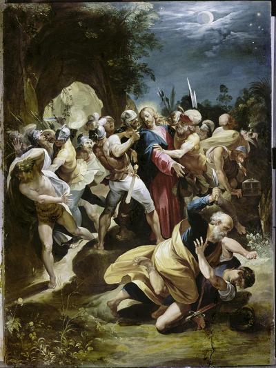 Capture of Christ-Giuseppe Cesari Arpino-Giclee Print