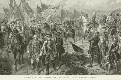 Capture of the Austrian Army at the Battle of Hohenfriedberg--Giclee Print