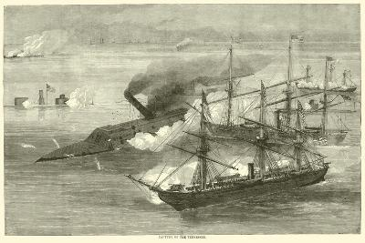 Capture of the Tennessee, August 1864--Giclee Print