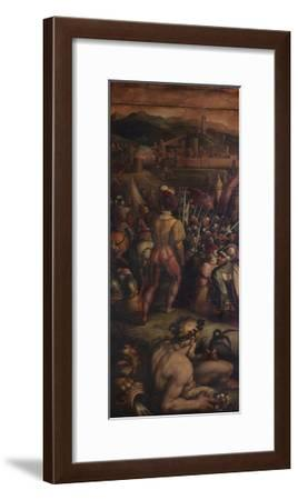Capture of Vicopisano, 1563-1565-Giorgio Vasari-Framed Giclee Print
