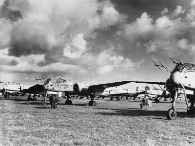 Captured Heinkel 219S--Photographic Print