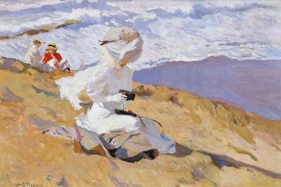 Capturing the Moment, 1906-Joaquin Sorolla y Bastida-Giclee Print