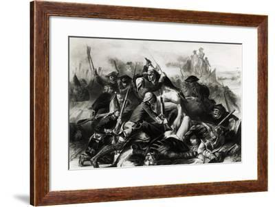 Capturing Yorktown--Framed Giclee Print