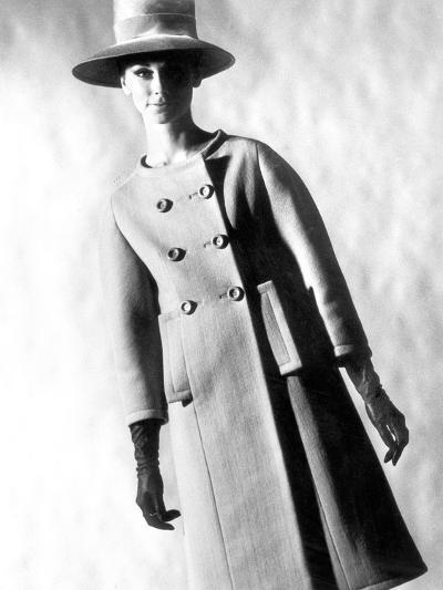 Capucci Coat in Spring Summer Collection 1963--Photo