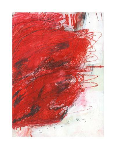 Capucine-Alison Black-Giclee Print
