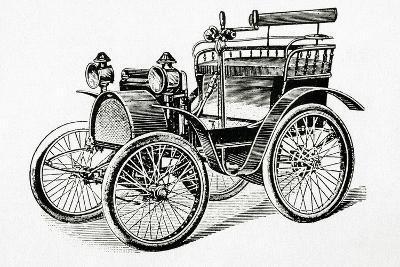 Car. 19Th Century. Engraving.-Tarker-Photographic Print