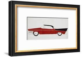 Car, c.1959-Andy Warhol-Framed Art Print