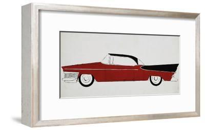 Car, c.1959-Andy Warhol-Framed Giclee Print