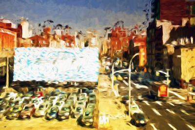 Car Park II - In the Style of Oil Painting-Philippe Hugonnard-Giclee Print