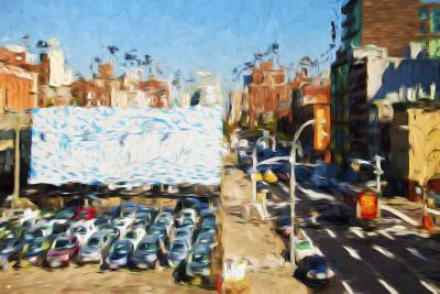 Car Park - In the Style of Oil Painting-Philippe Hugonnard-Giclee Print