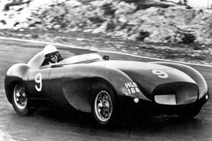 Car Racing Driver David Blakely During Race He Was Shot by Former Lover Ruth Ellis in 1955