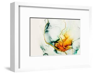 Transparent Creativity. Abstract Artwork. Trendy Wallpaper. Ink Colors are Amazingly Bright, Lumino by CARACOLLA