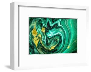 Trendy Nature Marble Pattern. Abstract Green Art. Natural Luxury. Style Incorporates the Swirls of by CARACOLLA