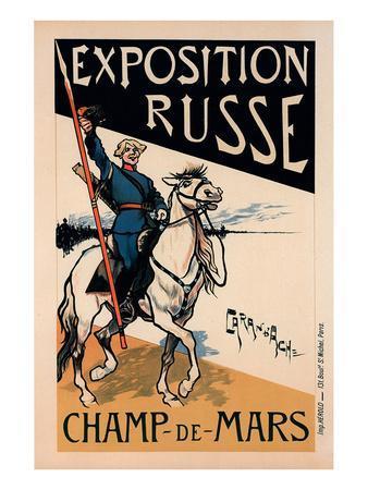 exposition Russe Champ de Mars