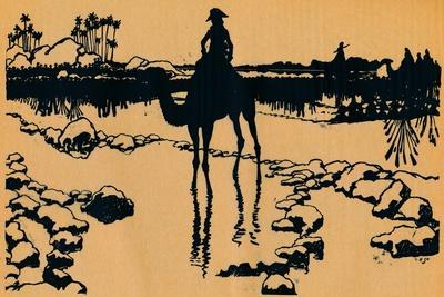 Silhouette for Ombres Chinoisses from Lepopee, 1898