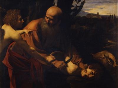Abraham Sacrificing Isaac, 1603-1604 by Caravaggio