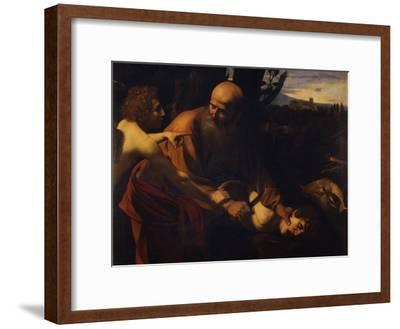 Abraham Sacrificing Isaac, 1603-1604