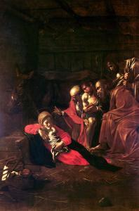 Adoration of the Shepherds by Caravaggio