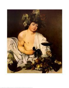 Bacchus, c.1597 by Caravaggio
