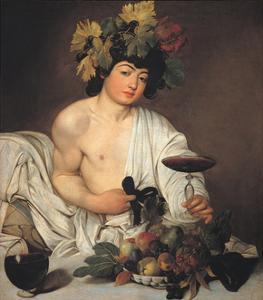 Bacchus by Caravaggio