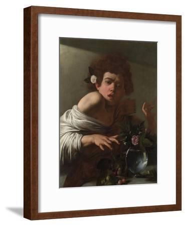 Boy Bitten by a Lizard, Ca 1595