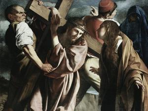 Calvary by Caravaggio