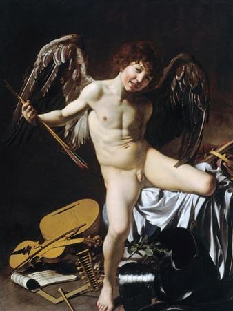 Cupid as Victor