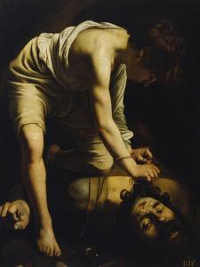 David Defeats Goliath by Caravaggio