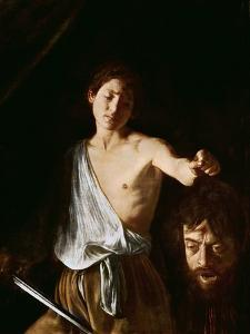 David with the Head of Goliath, 1606 by Caravaggio