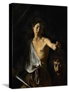 David with the Head of Goliath by Caravaggio