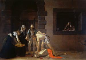 Decollation of the Baptist by Caravaggio