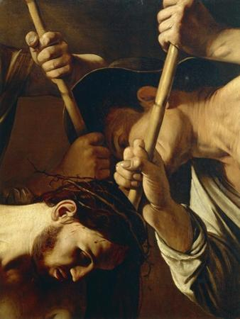Face of Christ, Detail from Crowning with Thorns