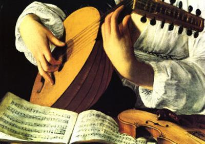 Lute Player, c. 1600 (detail)