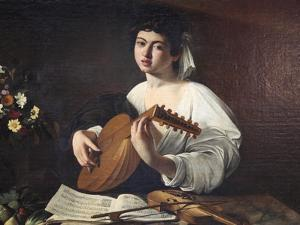Lute-Player, C1595 by Caravaggio