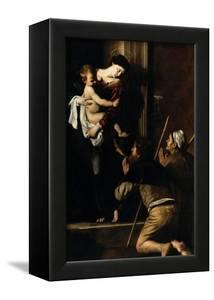 Madonna Dei Pellegrini by Caravaggio