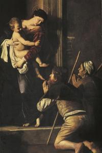 Madonna of Loreto, C.1606 by Caravaggio